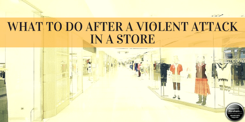 Negligent security can mean danger lurks in stores and shopping mall corridors