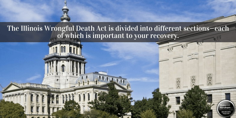 Illinois legislators have established the state wrongful death code