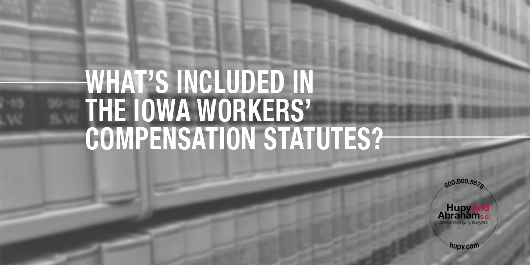 Iowa workers compensation statutes