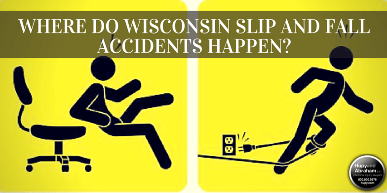 Fall accidents can happen almost anywhere