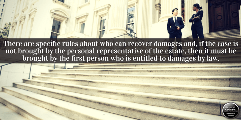 The court will reject your wrongful death claim unless you have standing to sue