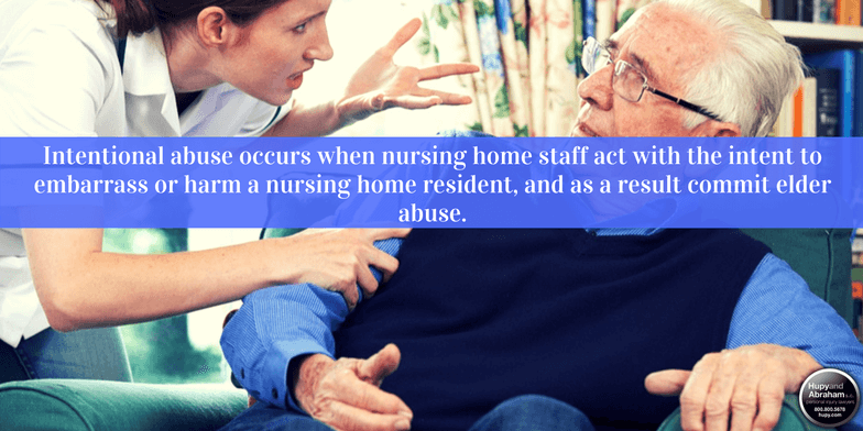 It's important to identify the cause of nursing home abuse when it occurs