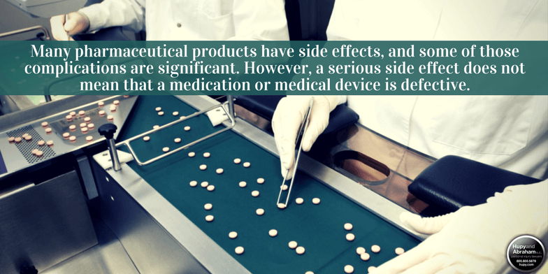 Flaws in drug design, production, or marketing can cause grave injuries to consumers