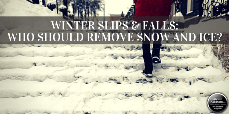 You may be able to collect fair compensation for a slip or fall on icy or snowy property