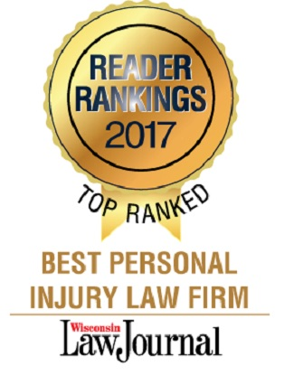 Wisconsin Law Journal Reader Ranking Logo