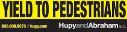 Yield To Pedestrians sticker