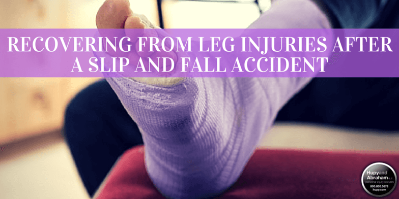 An attorney can help recoup your losses after a fall injury fractures your leg or ankle