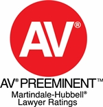 Martindale Hubbell AV Rating