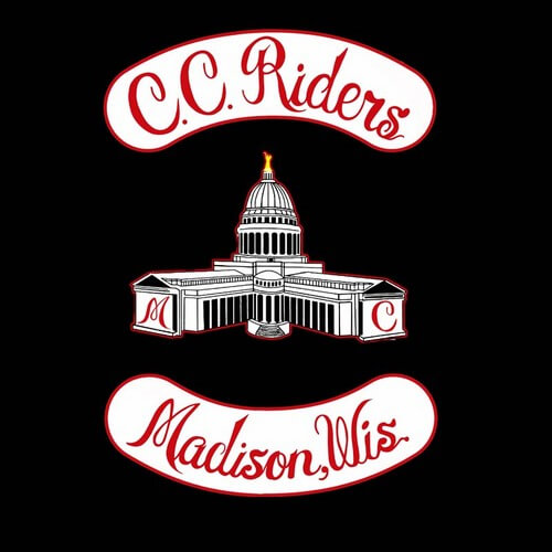 C.C. Riders Madison, Wisconsin logo