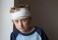 The severity and location of a direct brain injury will determine the treatment plan