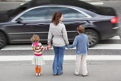 Tragic auto accident injuries can happen when cars don't yield to pedestrians
