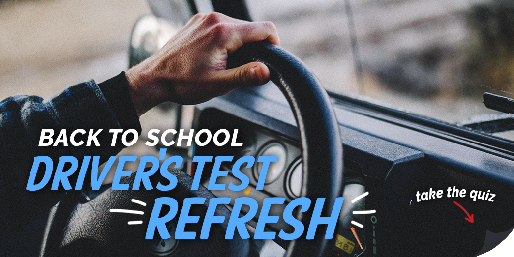 Is it back to driving school for you? Take the quiz!