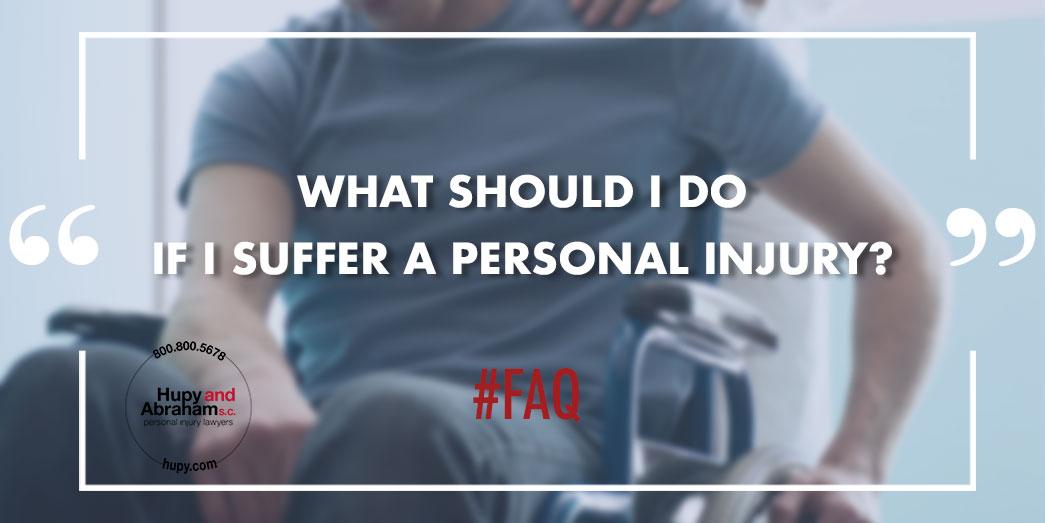 Injured man in wheel chair