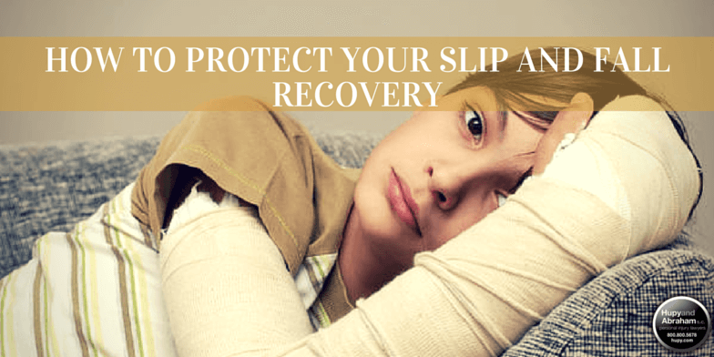 Seek the recovery you deserve after a fall injury caused by someone else's negligence