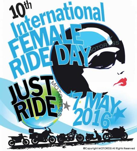 10th International Female Ride Day