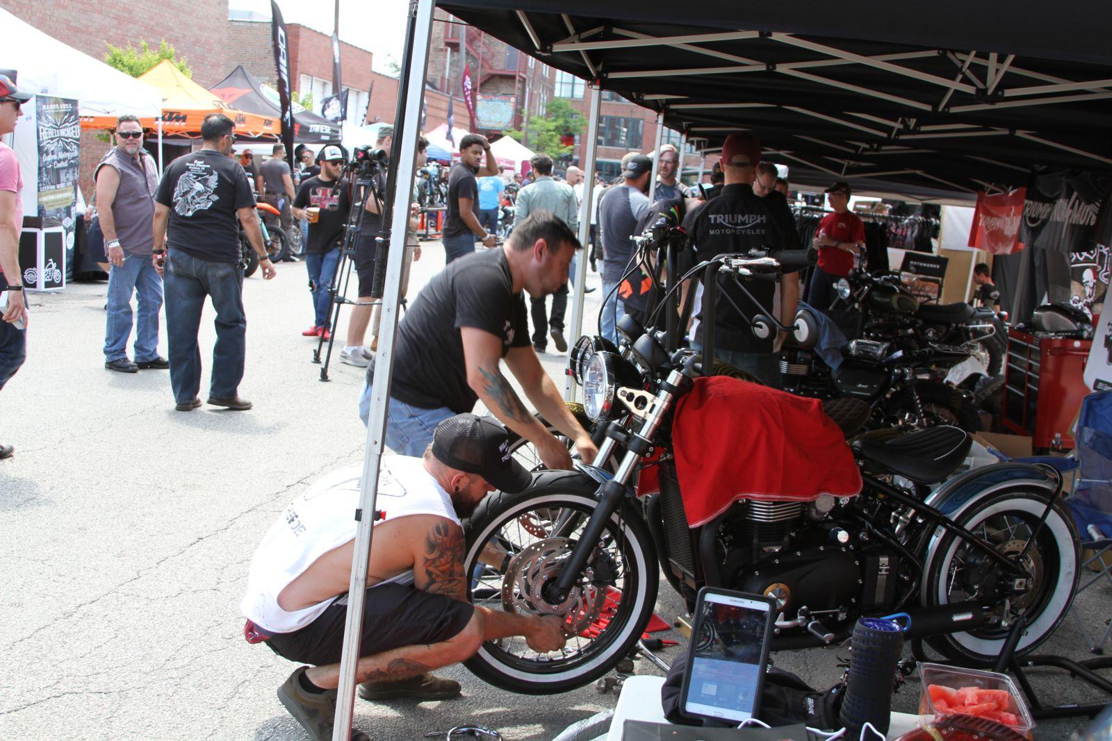 MOTOBLOT Chicago event booths