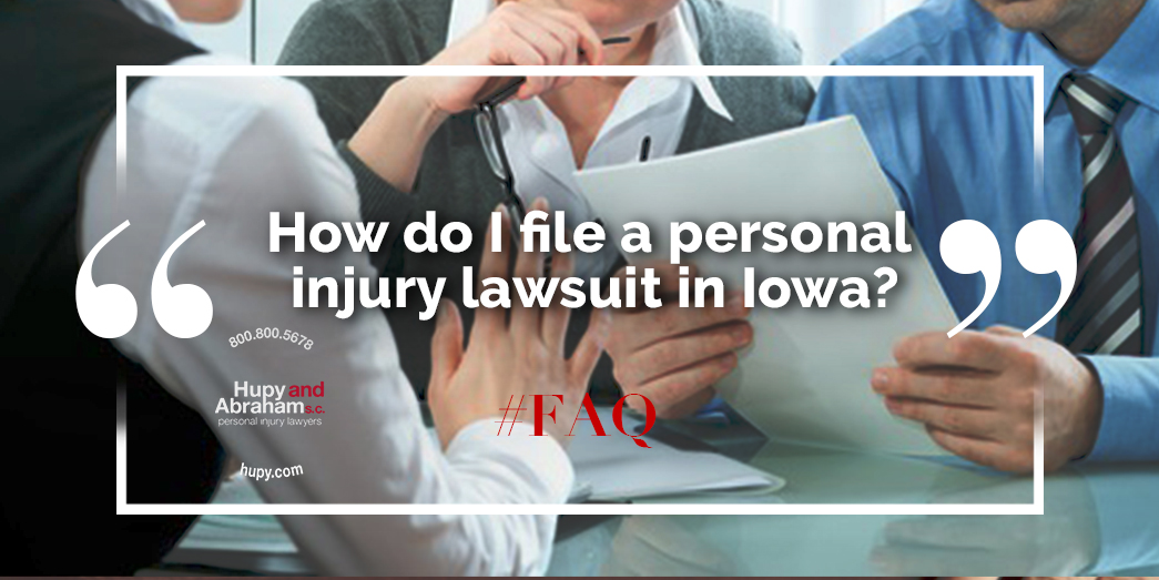 Filing A Personal Injury Claim In Iowa