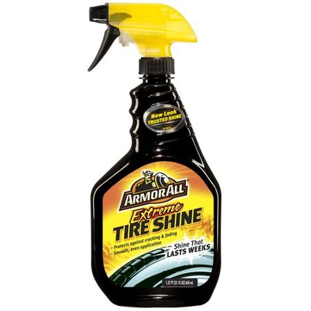 Tire Shine cleaner