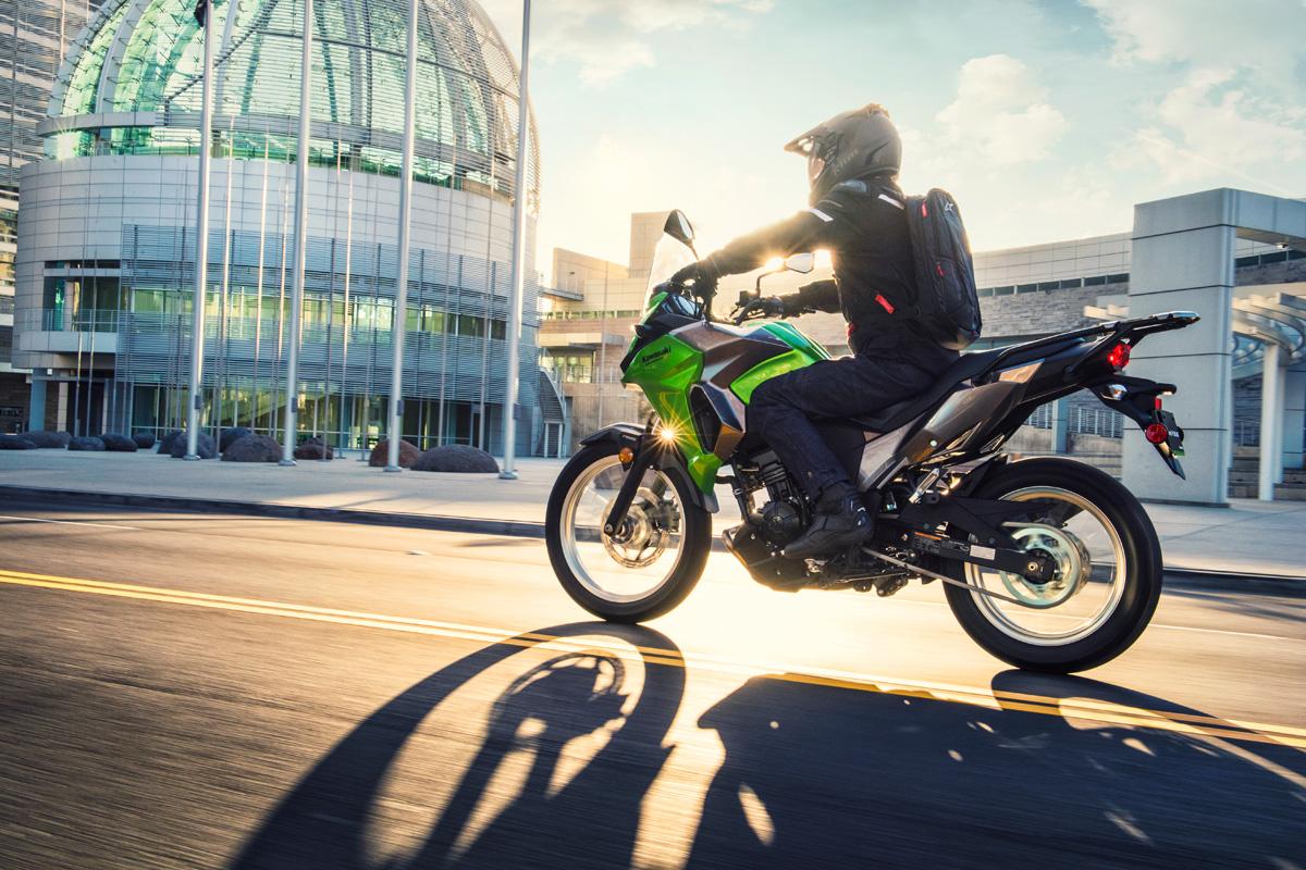 Kawasaki Versys X-300 motorcycle