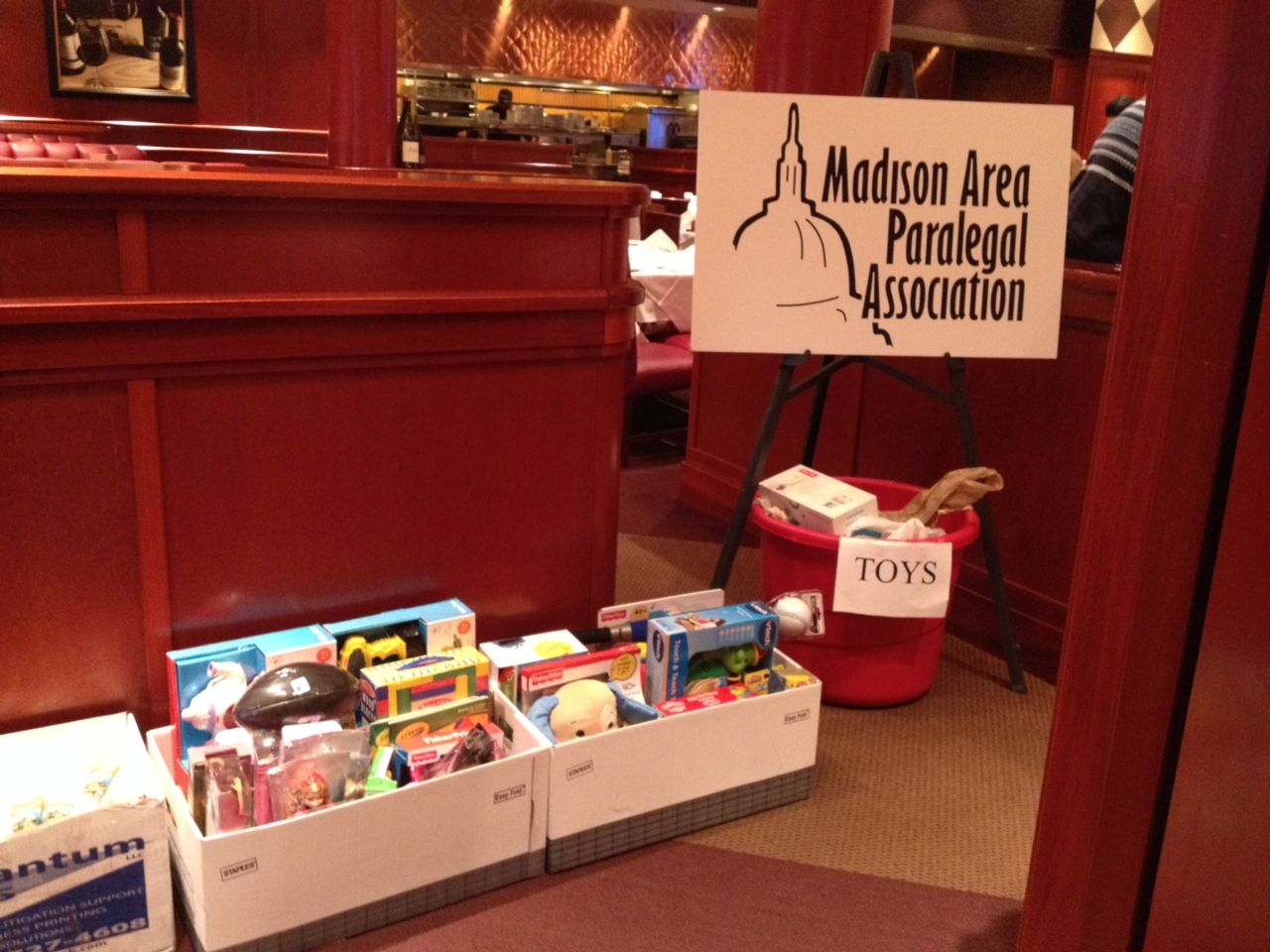 Madison toy drive