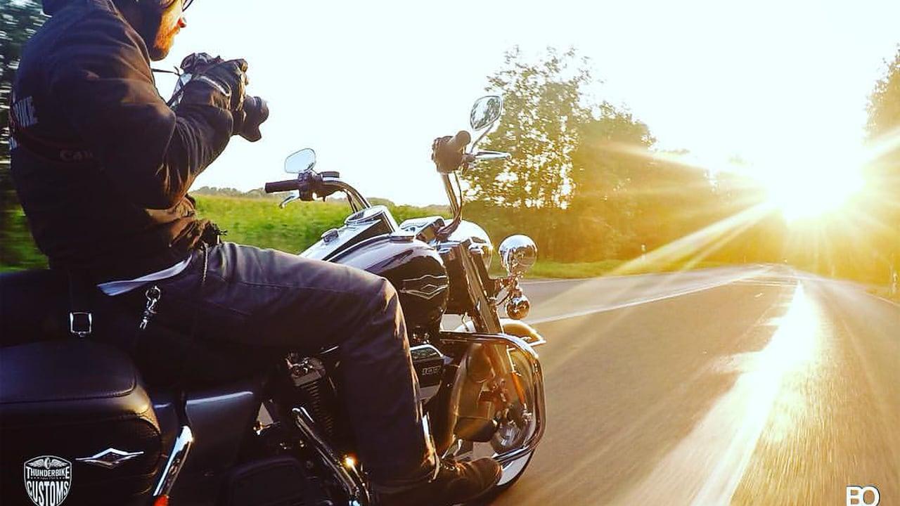 Milwaukee Eight Harley-Davidson motorycle