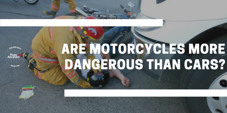 Are Motorcycles More Dangerous Than Cars