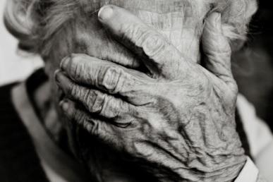 Abused nursing home resident