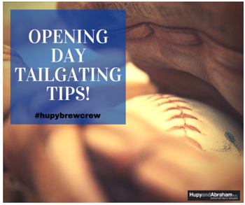 opening day tailgating tips