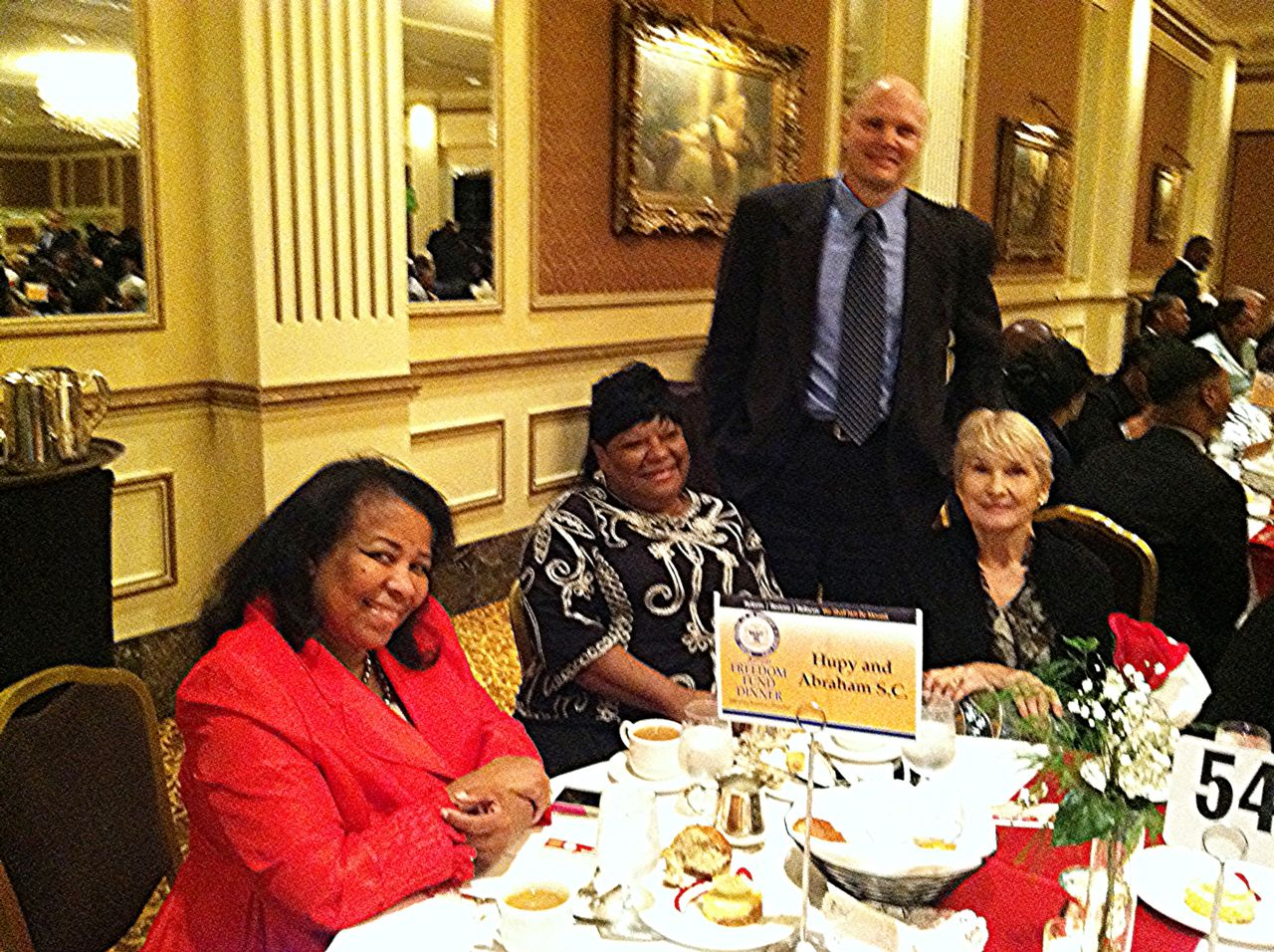 NAACP's Annual Freedom Fund Dinner Attendees