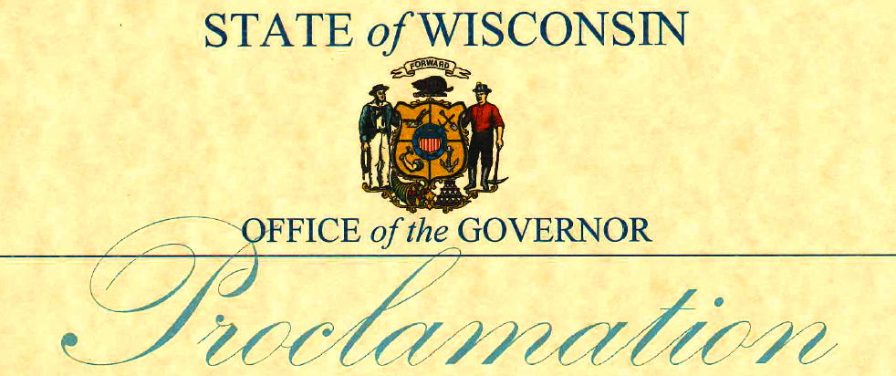 Motorcycle Awareness Month Wisconsin Proclamation