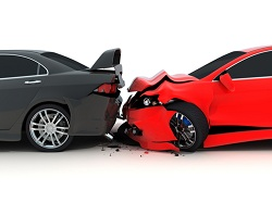 Rear-end auto collisions often result from speeding or aggressive driving