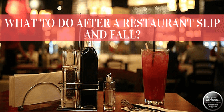 The average restaurant hides dozens of slip and fall risks