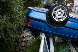 Rollover car wrecks are very often fatal to passengers and drivers