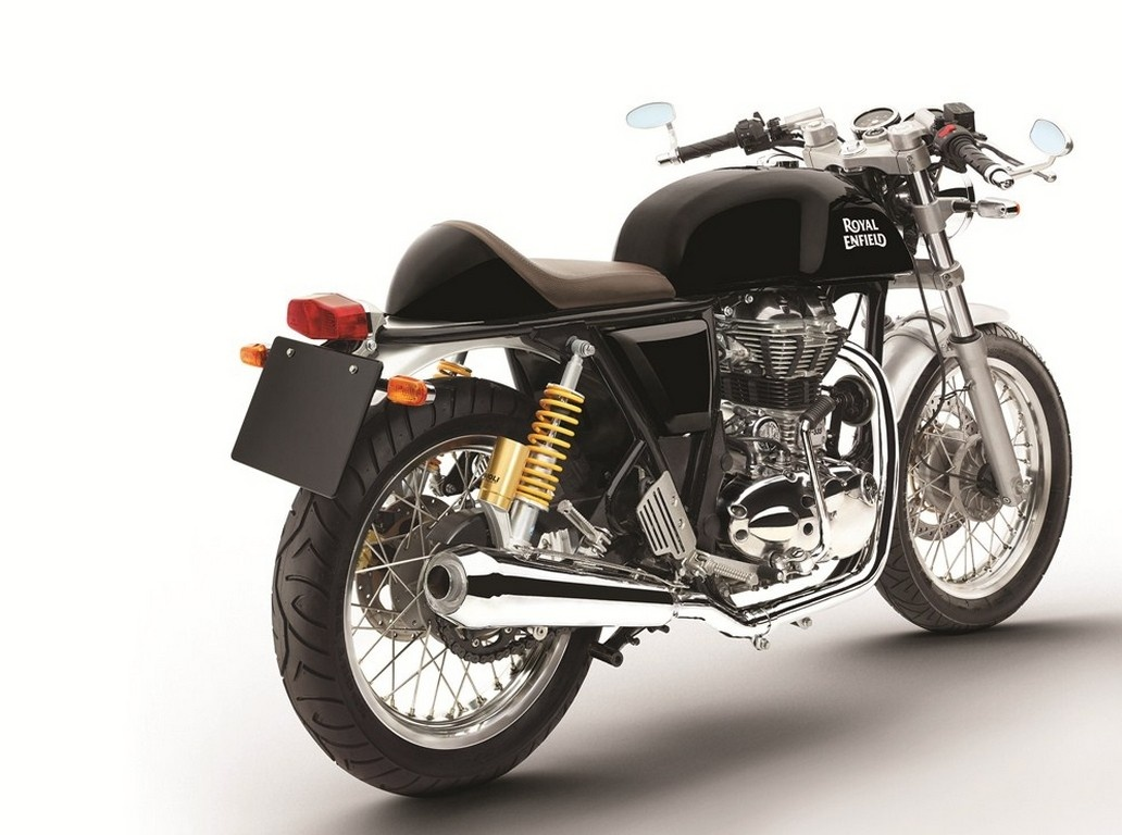 royal enfield continental gt in black