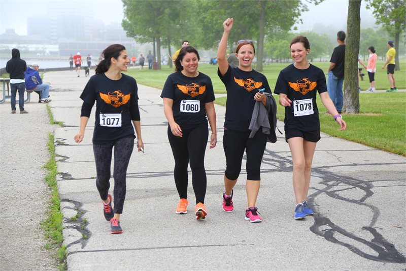 The 2014 Hupy and Abraham team at 2015 Run for Justice event