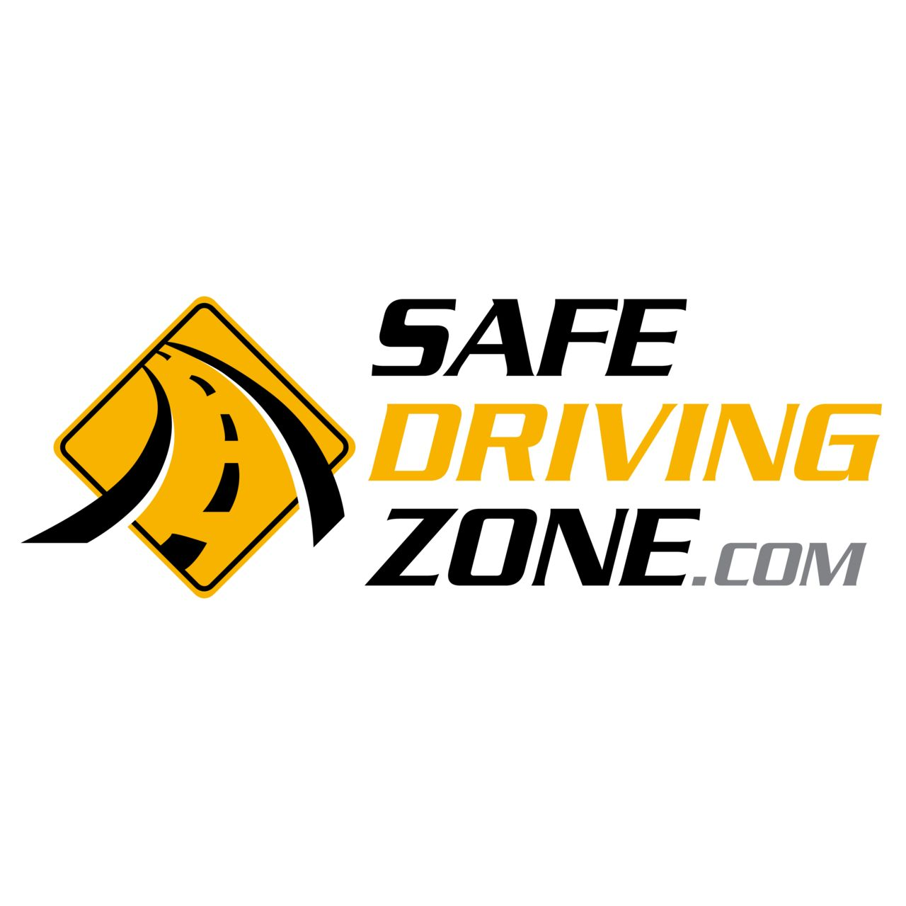 safe driving zone logo