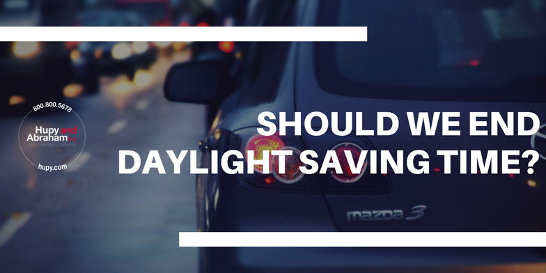 should we do away with daylight saving time all together?