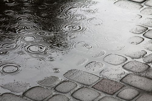 A puddle can lead to a call to a Gurnee slip and fall attorney days after the actual accident.