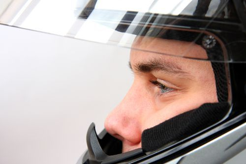 Wearing a full-face helmet can help to avoid a brain injury when riding your motorcycle.