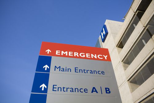 Photo of Hospital Emergency Room Exterior