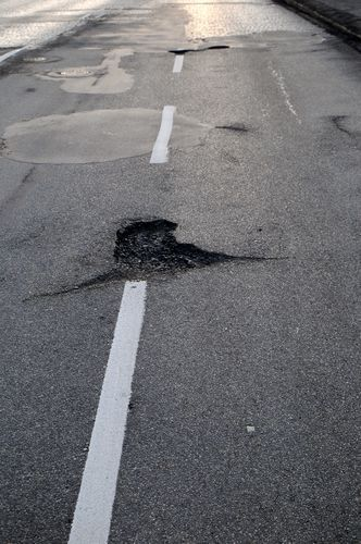 Road obstacles and debris turn motorcycle riding on Wisconsion roads into a hazard.