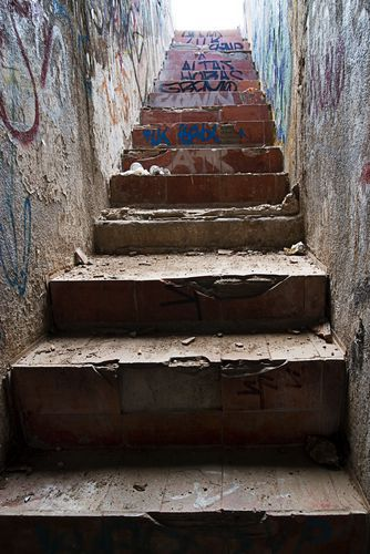 Negligence of a property owner or manager may lead to a fall accident. Dangerous conditions include uneven or broken stairs.