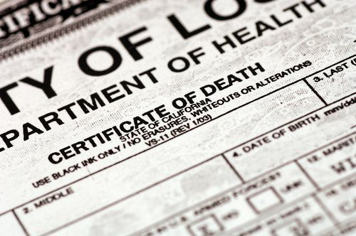 The first thing a Madison wrongful death attorney needs for your lawsuit is the proof of death which is commonly the signed death certificate.