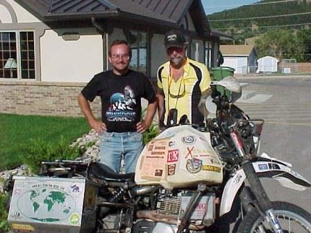 Simon and Pan in Sturgis