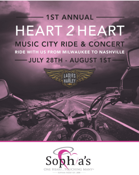 Sophia's Heart Ride 2016