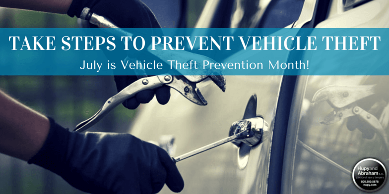 Don't make it easy for thieves to get their hands on your vehicle with these tips!