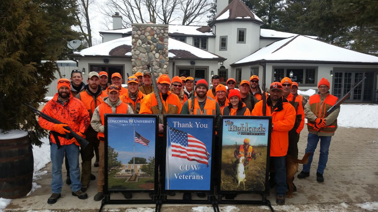 Sponsored Vet group of hunters