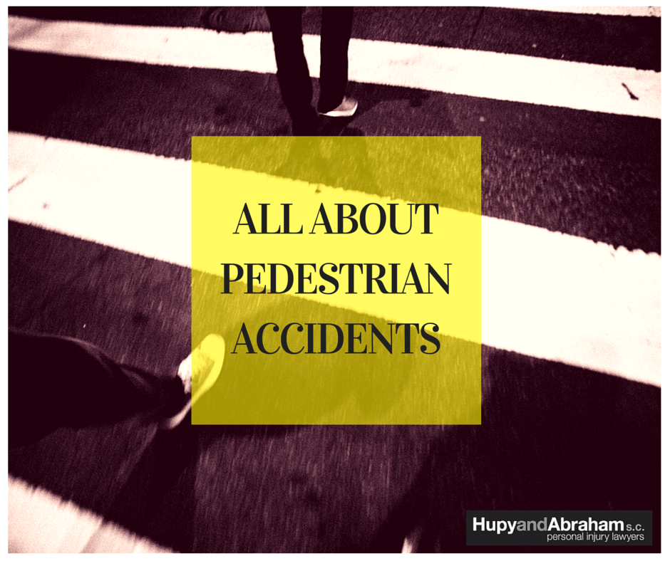 Pedestrian crosswalk to prevent accidents