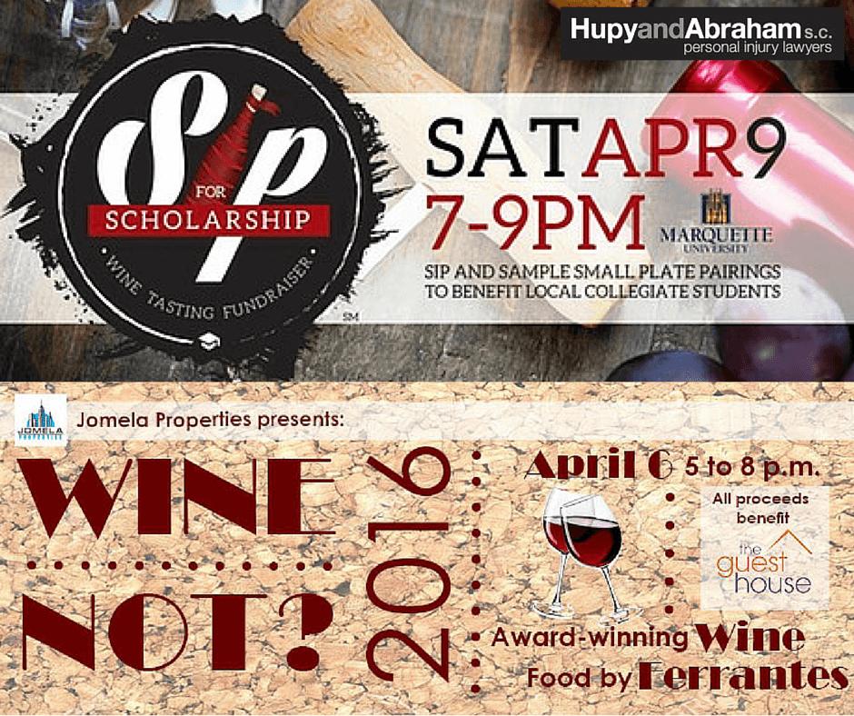 wine tasting fundraisers