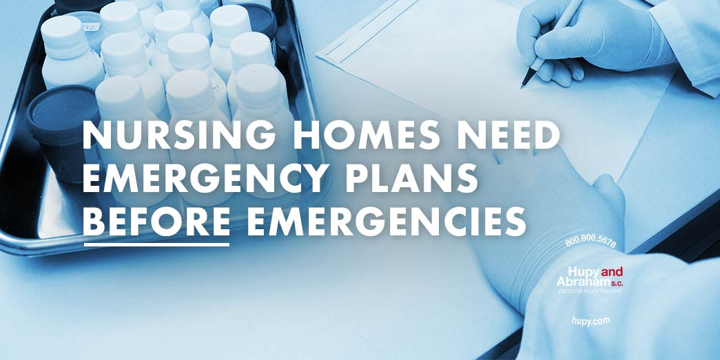 Nursing Homes Need Emergency Plans